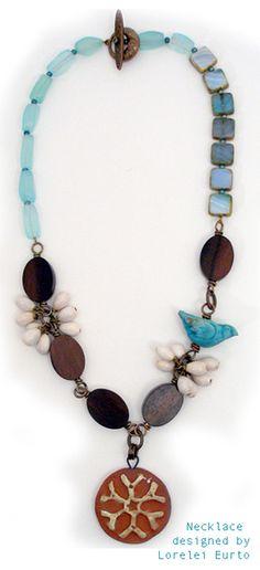 Necklace designed by Lorelei Eurto
