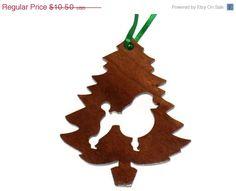 ON SALE Poodle Silhouette Tree Ornament by KentsKrafts on Etsy, $8.40
