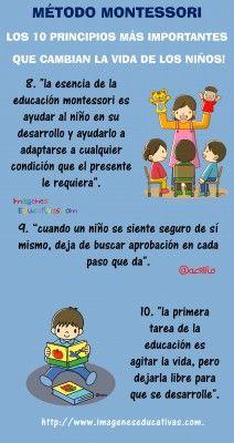 Método Montessori los 10 principios