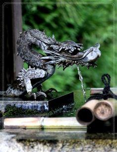 Dragon Fountain in Japan