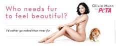 Who needs fur to feel beautiful?