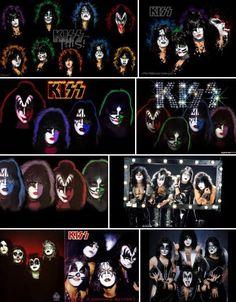 Kiss......... Kiss Rock Bands, Rock And Roll Bands, Gene Simmons Kiss, Rock Poster, Vintage Kiss, Kiss Art, Kiss Pictures, Kiss Photo, Hot Band