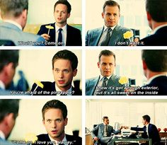 #suits #harveyspecter #mikeross