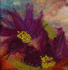 """"""" Chrysanthemums """" SOLD  -  Threlfall's Art Studio 
