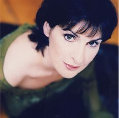 """Enya- I think mostly her music calms and soothes me. She is not the most public, but her calming aura is wonderful. I would love to attain her level of peace and serenity. """"You go there, you're gone forever. I go there, I lose my way. We stay here, we're not together. Anywhere is."""""""