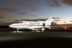 The Hawker 800/900 XP jet charter is a mid-sized executive jet produced by the Hawker Beechcraft Corporation. This private jet is typically configured to seat 8 passengers and features a full lavatory for extra convenience. The interior of this business charter airplane surrounds those lucky enough to fly on this private jet with the finest luxury appointments in an expansive 757 cubic foot cabin. To charter a private jet or other aircraft, call one of our helpful associates at (888)…