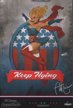 Keep Flying nose art