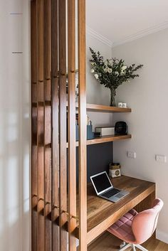 Home Office Space, Home Office Decor, Home Decor, Small Office, Office Set, Office Ideas, Office Nook, Office Interior Design, Office Interiors