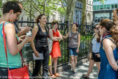 https://flic.kr/s/aHskeedNop | A Walk from the Wall to Liberty Square | JOIN US for a Participatory Wall Street Walk starting at Bowling Green, as we tell the story of American capitalism from the People's point of view.   © Erik Mc Gregor - erikrivas@hotmail.com 917-225-8963