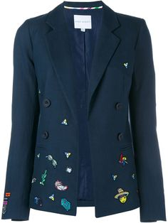 Mira Mikati Cartoon Embroidered Jacket