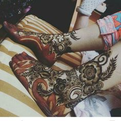 Oh... Awesome mehndi