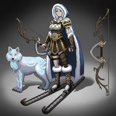 skadi norse mythology - Google Search