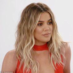 Khloe Kardashian documents siblings' weight woes in Revenge Body clip - Coming soon: The season finale of Revenge Body With Khloe Kardashian will air on Sunday - Khloe Kardashian Hair Ombre, Koko Kardashian, Khloe Kardashian Photos, Kardashian Jenner, Balayage Hair, Ombre Hair, Celebrity Makeup Looks, Revenge Body, Celebrity Hairstyles