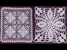 Crochet flower motif tutorial Part 2 How to join motifs Very Easy Tutorial – Knit And Crochet İdeas Crochet Border Patterns, Crochet Table Runner Pattern, Vintage Crochet Patterns, Crochet Lace Edging, Crochet Tablecloth, Crochet Diagram, Crochet Squares, Thread Crochet, Crochet Flowers