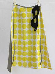 udder — 'Yellow BOOM' Cape & Mask