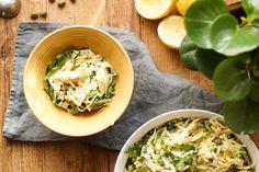 Salat mit geräucherter Forelle und Orzo von Elle Republic