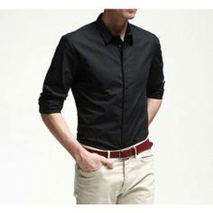 Business Casual Men, Men Casual, Formal Trousers For Men, Mens Fashion, Shirt Dress, Solomon, Elegant, 30, Mens Tops