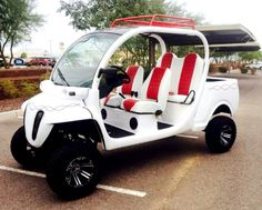 Custom gem car by Innovation Motorsports Gem Cars, Custom Golf Carts, Small Cars, Motorhome, Cars And Motorcycles, Quad, Cali, Innovation, Mobility Scooters