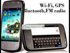 """DOOGEE DG120 3.5"""" 3G Smartphone GPS WiFi Bluetooth G-sensor"""