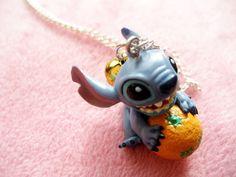 Disney Stitch necklace @ Etsy