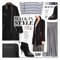 """""""Walk In Style - Yoins 25"""" by anyasdesigns ❤ liked on Polyvore featuring Steffen Schraut and Bobbi Brown Cosmetics"""