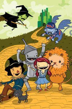 Wizard of Oz illustration