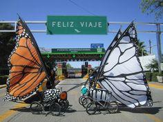 Bike Parade, Samba, Tricycle Bike, Diy Carnival, Bike Pump, Sports Day, Giant Butterfly, Steampunk Costume, Bike Design