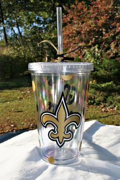 New Orleans Saints tumbler - Must.Get.One!!!