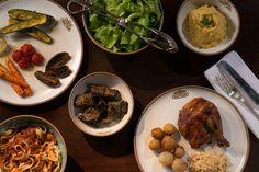 Antepastos, massas, assados, sanduíches. Nosso cardápio é vasto e bem diversificado! A cada dia uma surpresa diferente para você!