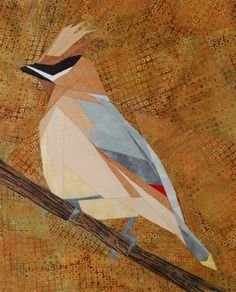 silver linings quilting pattern cedar waxwing