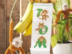 Monkey D for dad | Free Chart | Cross Stitching