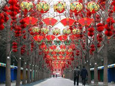 lunar new year decorations - Google Search