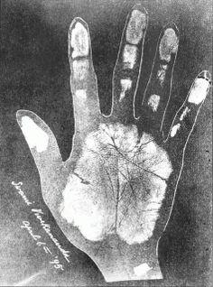 swami vivekananda handprint