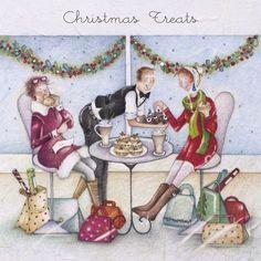 Cards » Christmas Treats » Christmas Treats - Berni Parker Designs