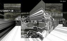 https://flic.kr/p/BYANcw | Espaço tridimensional abstrato quase em P&B / Abstract three-dimensional space almost B&W