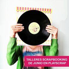 DISCO VINILO - TALLER PLAYSCRAP MADRID Madrid, Music Instruments, Vinyl Records, Atelier, Musical Instruments
