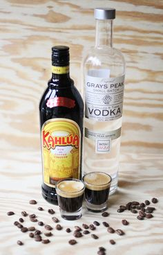 How to make an espresso martini - my 2 favourite liquids, coffee and vodka! Yummo