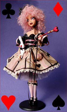Queen of Hearts - ooak my scene barbie
