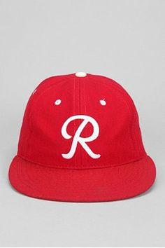e5ca6ec170c35 Ebbets Field Strap-Back Hat
