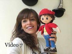 Como tejer chamarra Crochet By Petus muñeco Mauricio SEXTA PARTE DEL - YouTube