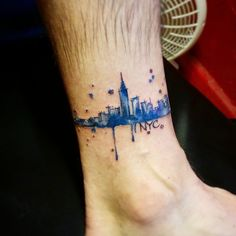 NYC skyline tattoo