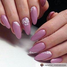 - nails to try - Nagels Elegant Nails, Classy Nails, Stylish Nails, Trendy Nails, Almond Acrylic Nails, Best Acrylic Nails, Manicure, Diy Nails, Rose Nails