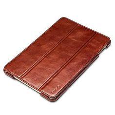 iPad Mini 4 Case Benuo [Vintage Classic Series] [Genuine Leather] Folio Flip /