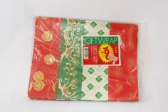 Collection of 1980s Christmas Gift Wrap by HappyCloudVintage, $10.00