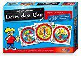 Noris Spiele 606076152 - Lern die Uhr, Kinderspiel