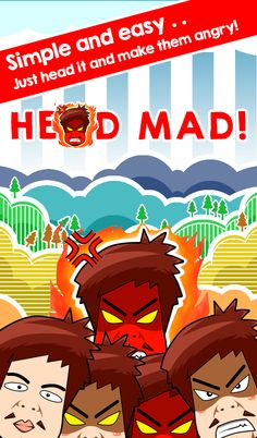 Play Head Mad - header game on Gazuma.com