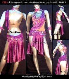 Latin Dance Costume