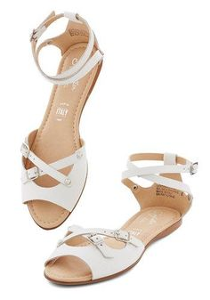 You Know Me Sandal in White by Seychelles
