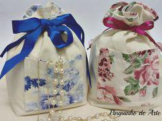saquinhos de tecido para lembranças de casamento - Pesquisa Google