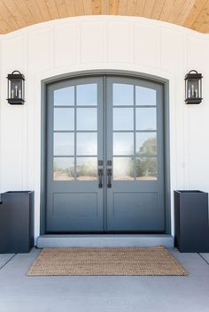 Front Door Paint Color Downpipe by Farrow and Ball Millhaven Homes